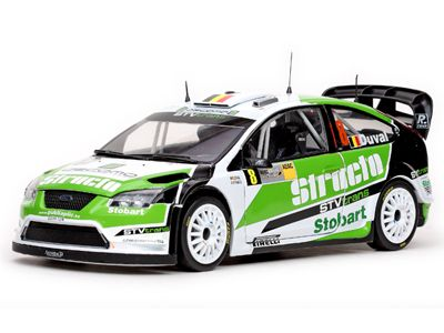 Ford Focus RS WRC07 #8 Duval