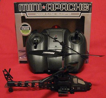 Infrared Remote Controlled Mini Apache Helicopter