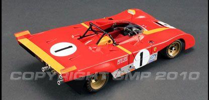 Ferrari 312PB 1972 Monza 1000 KM Winner