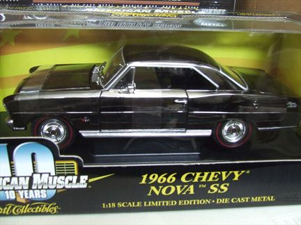 Chevrolet Nova SS 1966 (Black Chrome)
