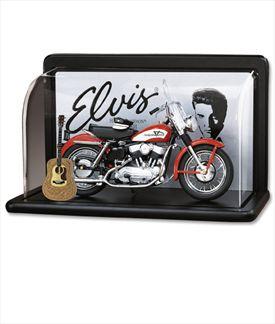 Elvis Harley-Davidson Model KH with Display