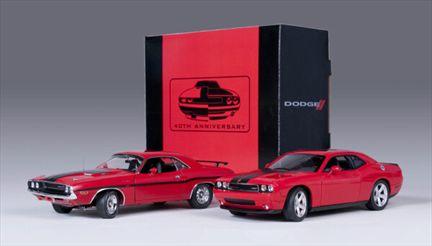 Dodge Challenger 1970 And 2010 Set