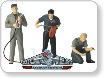 Set of 3 figures - Full Service Figures