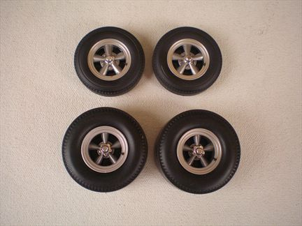 Wheel/Tire Set T/Thrust drag set