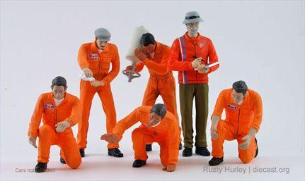 Figurines Pit Crew