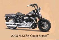 Harley-Davidson FLSTSB Cross Bones 2008