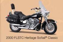 Harley-Davidson FLSTC Heritage Softail Classic 2000