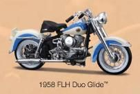 Harley-Davidson FLH Duo Glide 1958