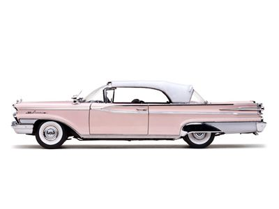 Mercury Parklane 1959 Closed Convertible Platinum