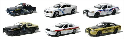 Hot Pursuit Police 1:64 Set #6