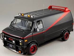 GMC A-Team Van **Low Stock**