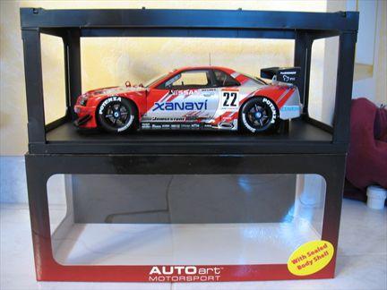 Nissan Skyline GT-R JGTC 2002 Xanavi Nismo #22