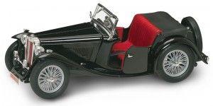 1947 MG TC Midget Convertible w/ Removable Bonnet