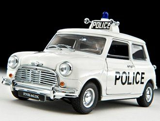 Mini Cooper S Police 1968
