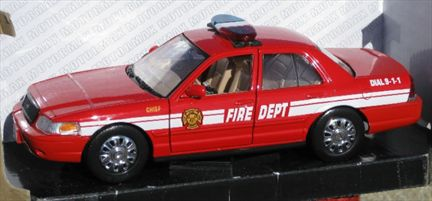 2007 Ford Crown Victoria Fire Dept