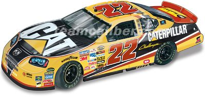 Dave Blaney #22 CAT Rental Store 2006 Dodge Charger Team Caliber Pit Stop