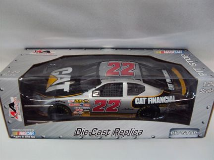 Dave Blaney #22 CAT Financial 2006 Dodge Charger MotorSports Authentics Pit Stop
