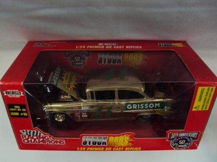 1955 Chevy Bel Air Stock Rods Nascar 50 Anniversary Limited