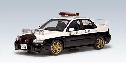 Subaru Impreza WRX STI Police Car (Japan)