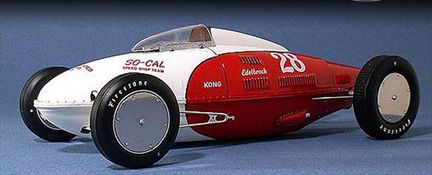 So-Cal Belly Tank Land Speed Car