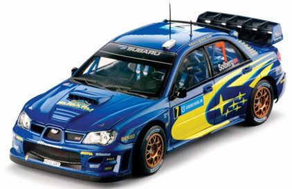 Subaru Impreza WRC P. Solberg/P. Mills Rally Sweden 2007