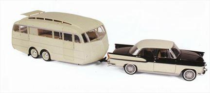 Simca Chambord 1965 With Caravan Henon