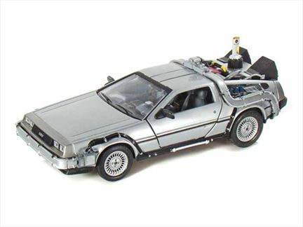 Delorean 1981 Time Machine From Back to the Future II