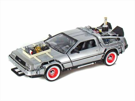 Delorean 1981 Time Machine From Back to the Future III
