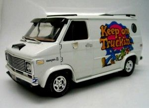1974 Chevy Custom Van