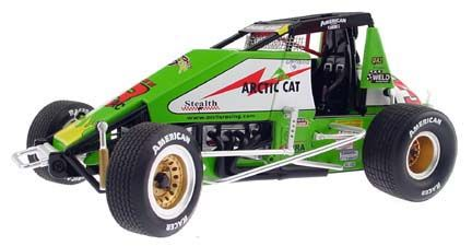 Dave Darland #3 Arctic Cat Sprint Car