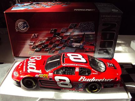 Dale Earnhardt Jr. #8 Budweiser Talladega Win Raced Version Monte Carlo 2003