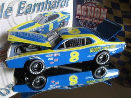 Dale Earnhardt #8 RPM 1975 Dodge