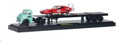 Dodge 700 COE 1957 & Dodge Charger Daytona 1969