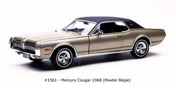 Mercury Cougar XR7 1968