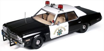 Dodge Monaco 1974 Police Car (Ré-édition)