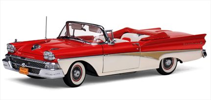 Ford Fairlane 500 Convertible 1958 **1 Left**