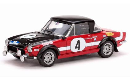 Fiat 124 Abarth Winner Acropolis Rally 1972