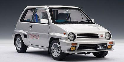 Honda City Turbo II With Motocompo