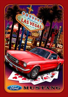 Ford Mustang Welcome To Fabulous Las Vegas Nevada