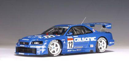 Nissan Skyline R34 JGTC Calsonic #12