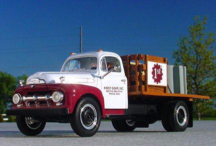Ford F-6 Half Rack Stake Truck