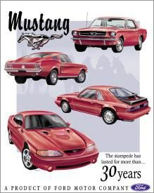 Mustang The stampede has lasted for more than... 30 years
