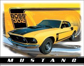 Mustang Boss' 302
