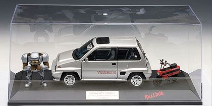 Honda City Turbo II (With Motocompa & Iron Bulldog) Display include