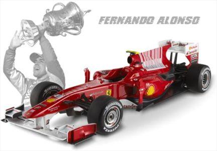 Ferrari F10 2010 Fernando Alonso