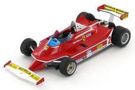 ferrari 312 T5 gp Argentine 1980 de Gilles Villeneuve