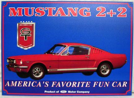 Mustang GT 2+2