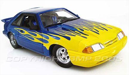 Ford Mustang LX Hatchback 1987 Street Heat