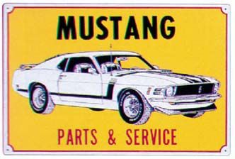 Mustang Parts & Service