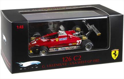 Ferrari 126 C2  Gilles Villeneuve USA-WEST GP 1982